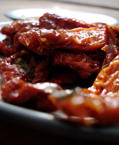 sun-dried tomatoes